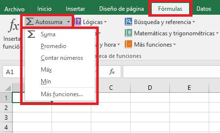 Excel_Autosuma