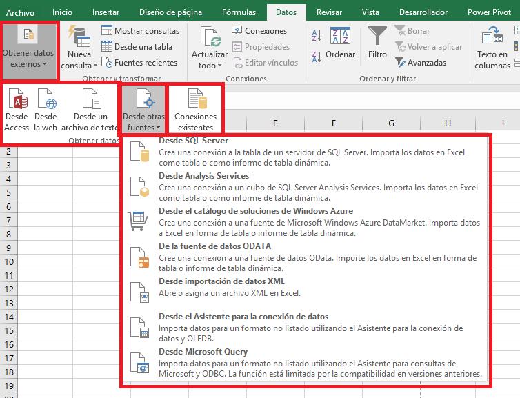 Excel: Pestaña Datos – AutoIncreMental.es