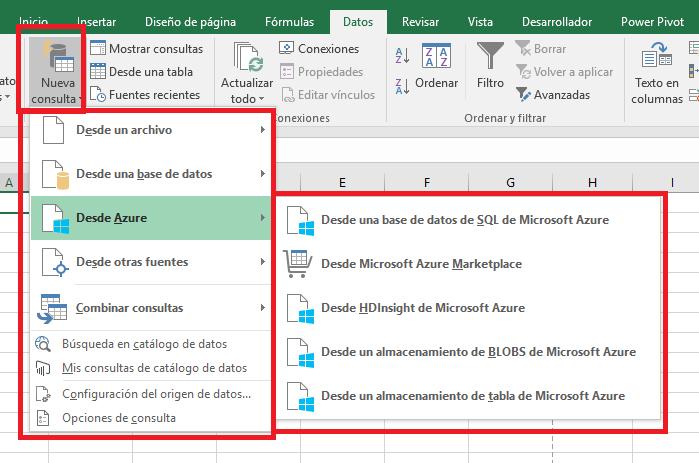 Excel_DesdeAzure