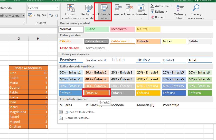 Excel_EstiloDeCelda