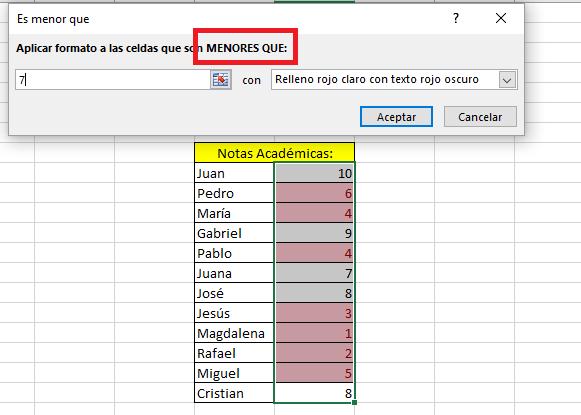 Excel_EstilosMenorQue