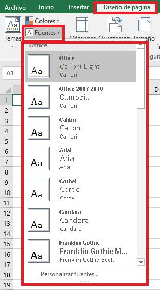 Excel_Fuentes