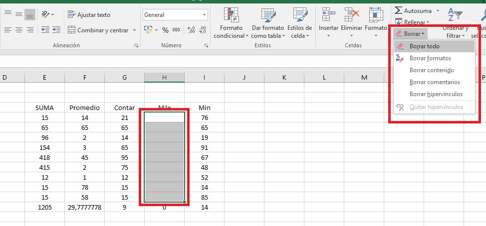 Excel_ModificarBorrar