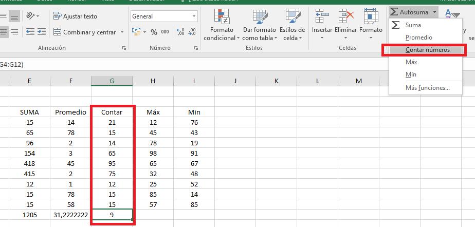 Excel_ModificarContar