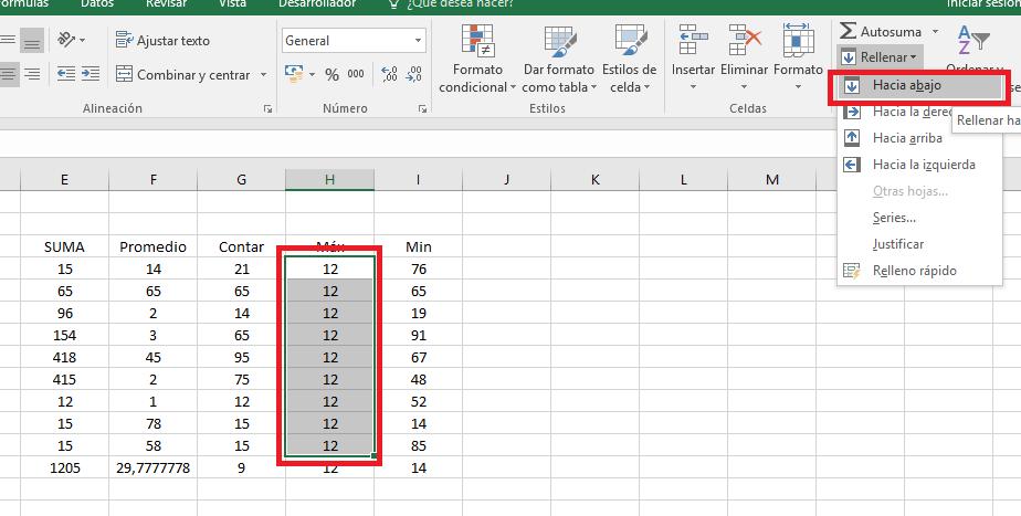 Excel_ModificarHaciaAbajo