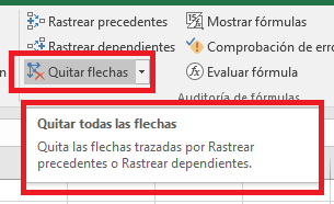 Excel_QuitarFlechas