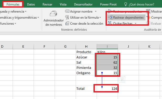 Excel_RastrearDependientes