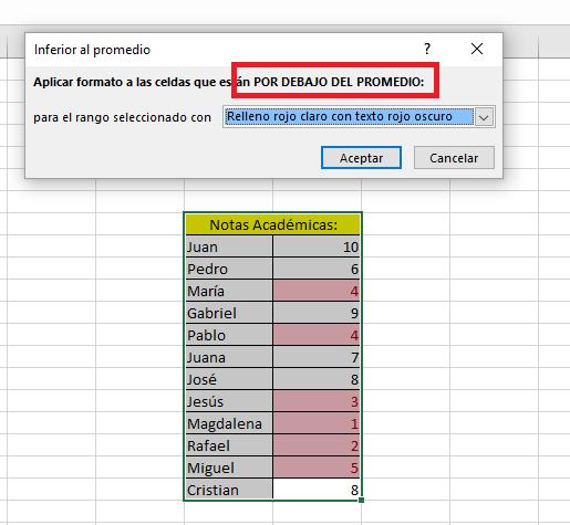 Excel_SuperiorPordebajodelpromedio