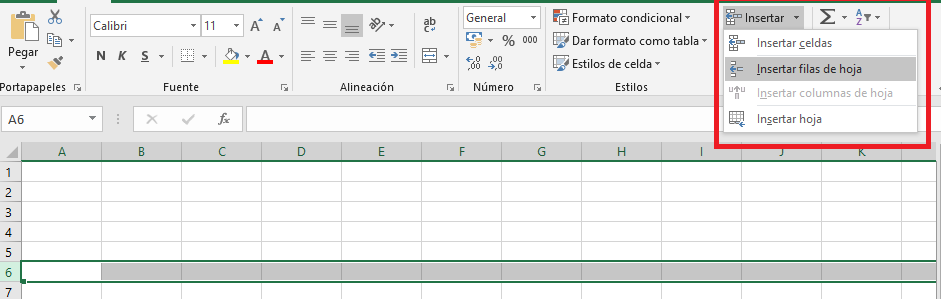 Excel:Trabajarconlasopcionesdeinserción